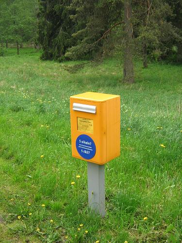 Vieläkö kirjeeni ehtii postiin?