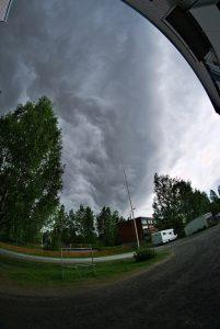 Ukkonen saapuu Siiliin © Janne, Flickr